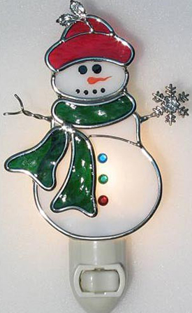 Snowman Night Light | Sturbridge Yankee Workshop
