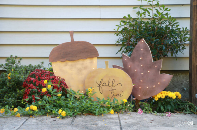DIY Harvest Yard Sign | Homemade by Carmona Blog | DIY