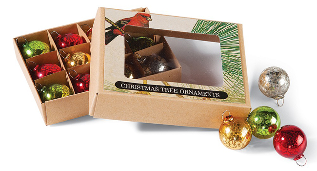 Glass Ball Ornament Set | Christmas Clearance | Sturbridge Yankee Workshop