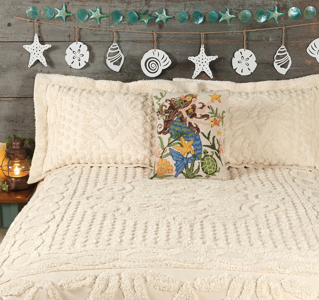 Lillian Chenille Bedding | Sturbridge Yankee Workshop