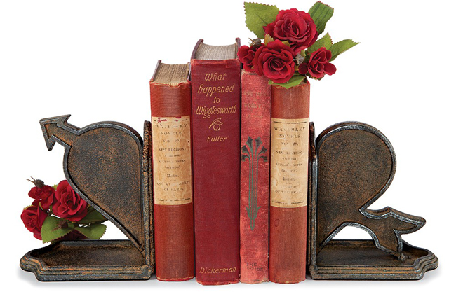 Heart & Arrow Bookends | Sturbridge Yankee Workshop