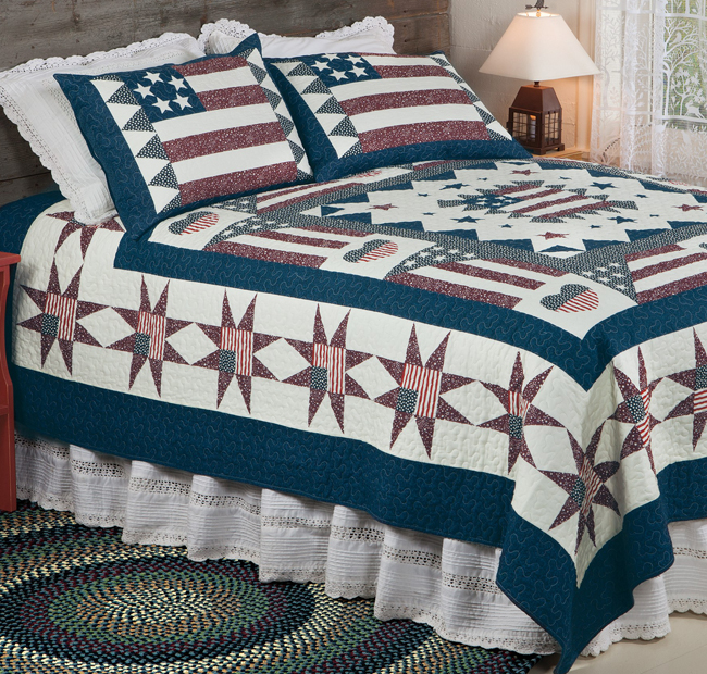 Old Glory Quilt Set | Sturbridge Yankee Workshop