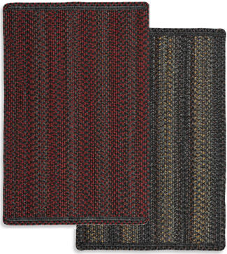 Perry Indoor/Outdoor Braided Accent Mat | Sturbridge Yankee Workshop