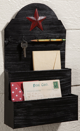 Primitive Home Wall Organizer | Sturbridge Yankee Workshop
