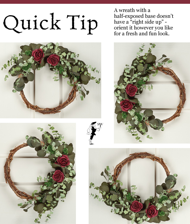 Quick Tip: Versatile Wreath Display