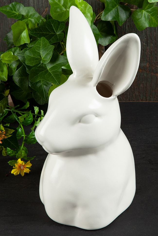 Bunny Ears Ceramic Vase | Sturbridge Yankee Workshop
