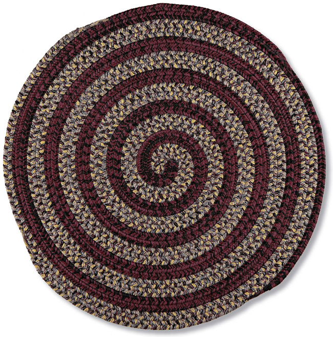Essie Swirl Braided Rug | USA | Sturbridge Yankee Workshop