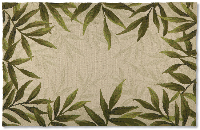 Forest Fern Area Rug | USA | Sturbridge Yankee Workshop