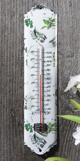 Herb & Fern Garden Thermometer | Indoor/Outdoor Decor | Sturbridge Yankee Workshop