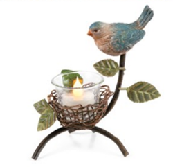 Bird Nest Tealight Holder | Sturbridge Yankee Workshop