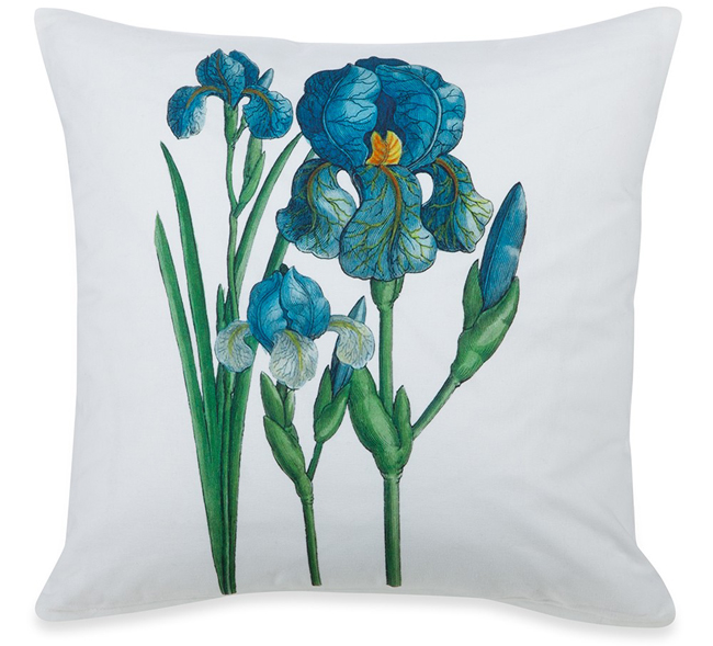 Garden Iris Pillow | Spring 2019 | Sturbridge Yankee Workshop