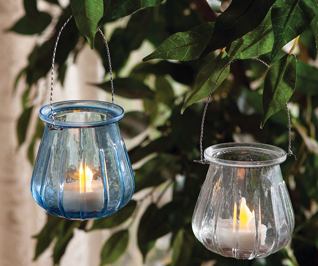Hanging Glass Tealight Holder | Spring 2019 | Sturbridge Yankee Workshop