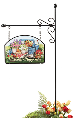 Flower Pickin' Garden Stake & Sign | Susan Winget | Sturbridge Yankee Workshop