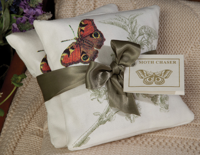 Scented Moth Design Sachet Set | USA | Sturbridge Yankee Workshop