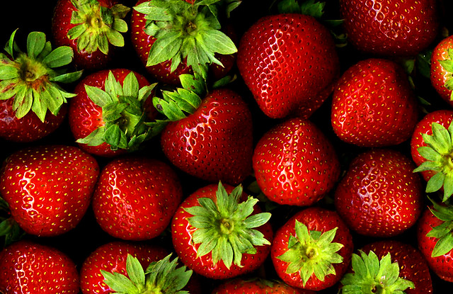 Strawberries | Flickr user Sharon Mollerus