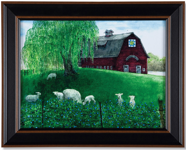 Sundance Farm Print | Artist Bonnie Fisher | USA | Sturbridge Yankee Workshop
