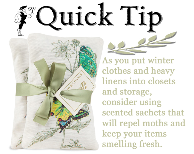 Moth Repellent Scented Sachets | Quick Tip | Sturbridge Yankee Workshop