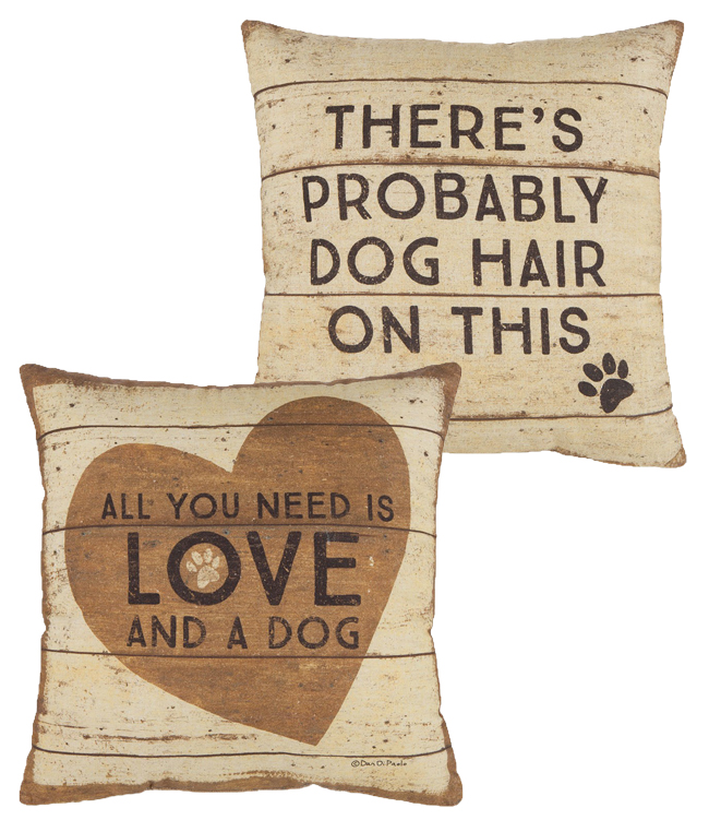 Unconditional Dog Love Pillow | ©Dan DiPaolo | Sturbridge Yankee Workshop