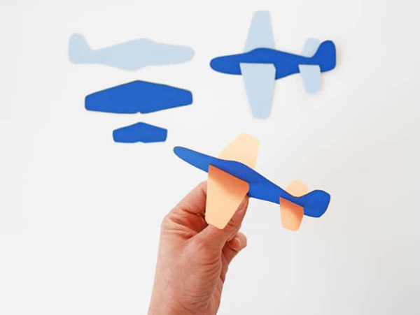 DIY Paper Plane Toy from Hello, Wonderful