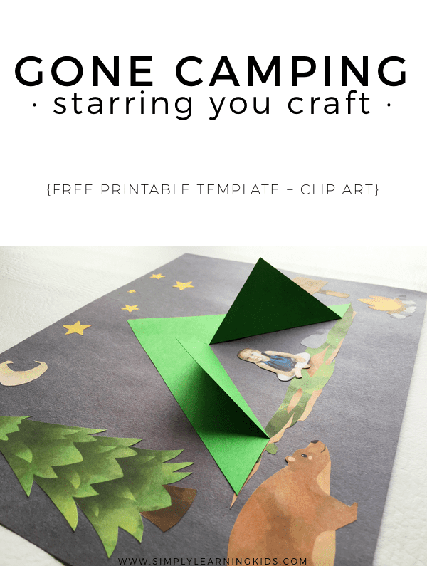 Gone Camping Craft from Simply Learning