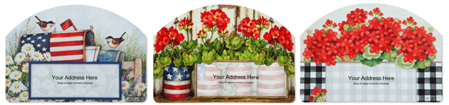 Magnetic Address Signs | Summer 2019 | Sturbridge Yankee Workshop