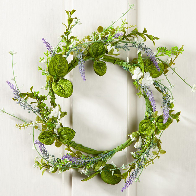 Purple Summer Wreath | Sturbridge Yankee Workshop