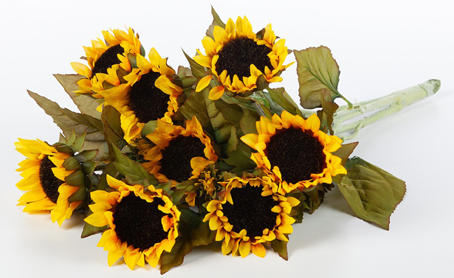 Summer Faux Sunflower Bunch | Sturbridge Yankee Workshop