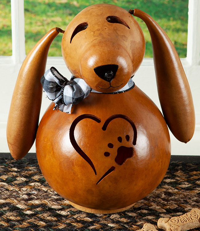 Biscuit The Dog Gourd Light | Sturbridge Yankee Workshop