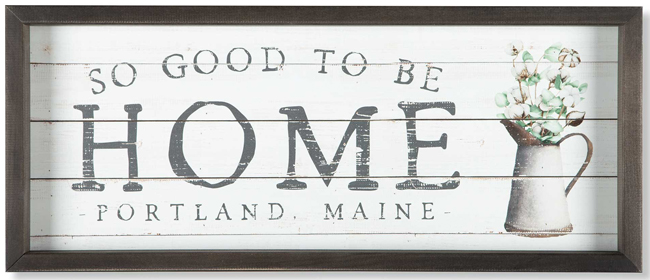 Personalized Home Sign | Sturbridge Yankee Workshop