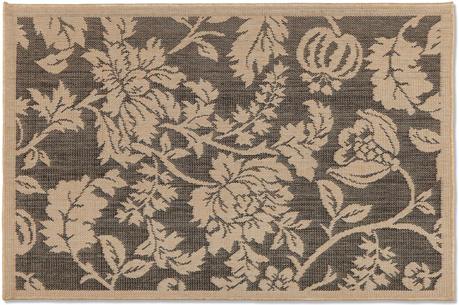 Floral Terrace Outdoor Accent Rug | Sturbridge Yankee Workshop