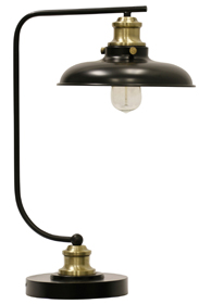 Conway Industrial Style Desk Lamp | Sturbridge Yankee Workshop