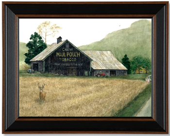 Mail Pouch Barn Print | Bonnie Fisher | USA | Sturbridge Yankee Workshop