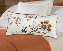 Country Autumn Bloom Pillow | Sturbridge Yankee Workshop