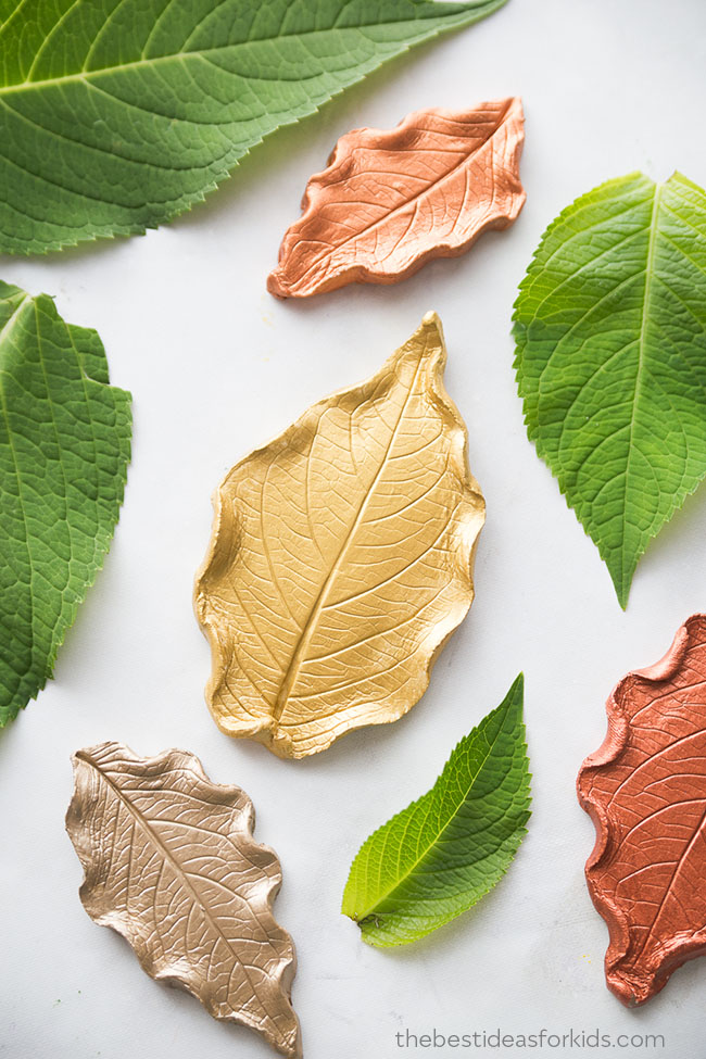 Leaf Clay Dish | The Best Ideas for Kids