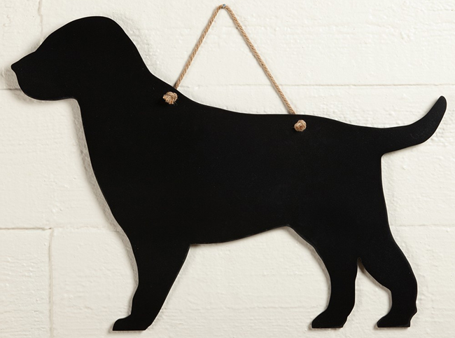 Black Lab Chalkboard