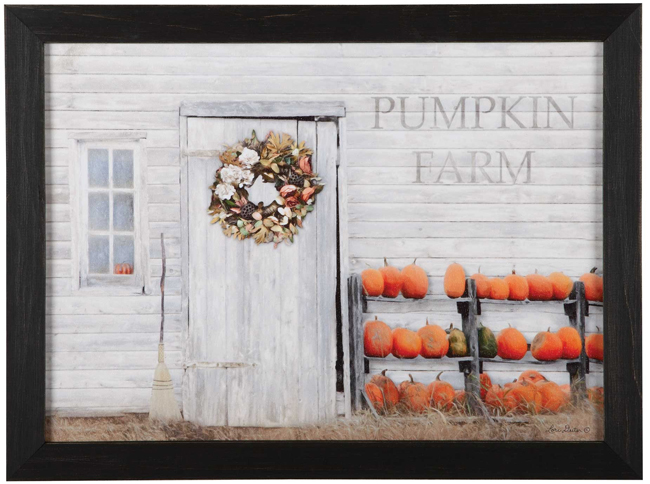Pumpkin Farm Print | Artist Lori Deiter© | USA | Sturbridge Yankee Workshop