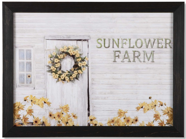 Sunflower Farm Print | Artist Lori Deiter© | USA | Sturbridge Yankee Workshop