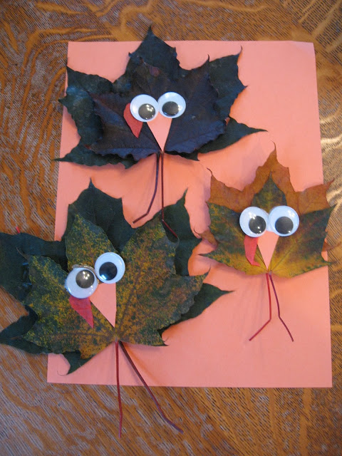 Maple Leaf Turkey Craft | Almost Unschoolers