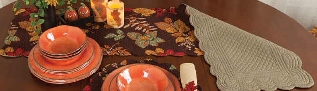 Autumn Festivities Table Runner