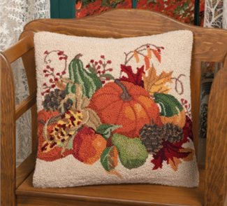 Bountiful Harvest Pillow | Sandy Clough | Sturbridge Yankee Workshop