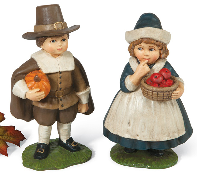Pilgrim Children Sculptures