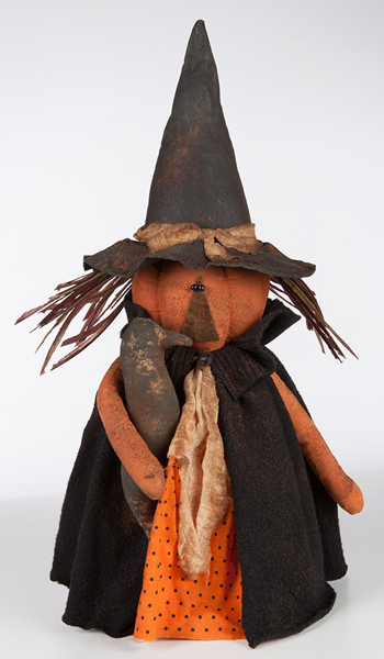 Primitive Standing Witch