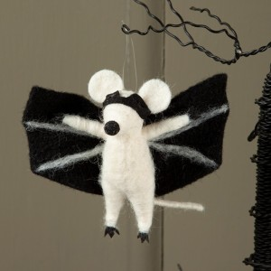 Felt Bat Halloween Ornament