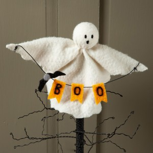 Felt Ghost Halloween Ornament