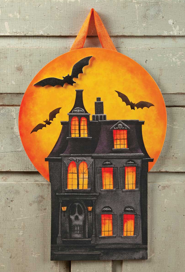 Haunted House Wall Hanging