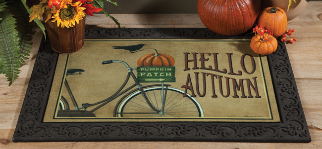 Hello Autumn Doormat