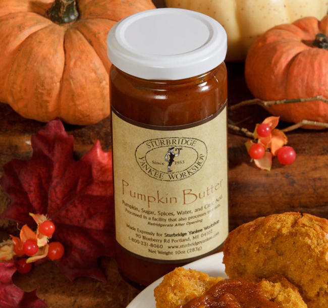 Pumpkin Butter | Made in New England | Sturbridge Yankee Workshop Exclusive